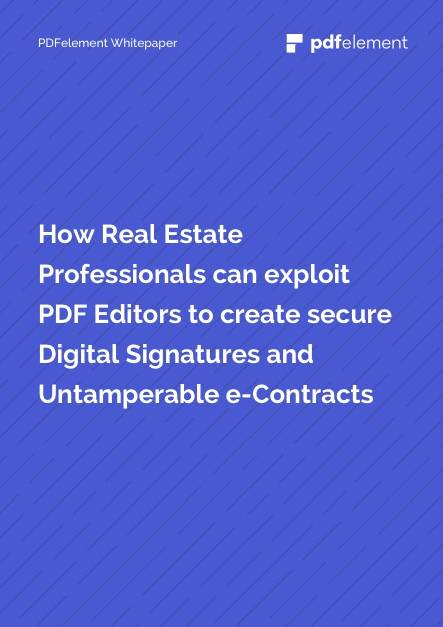 White Paper Thumbnail for Real Estate