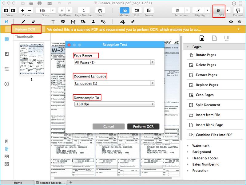editar pdf digitalizado no mac