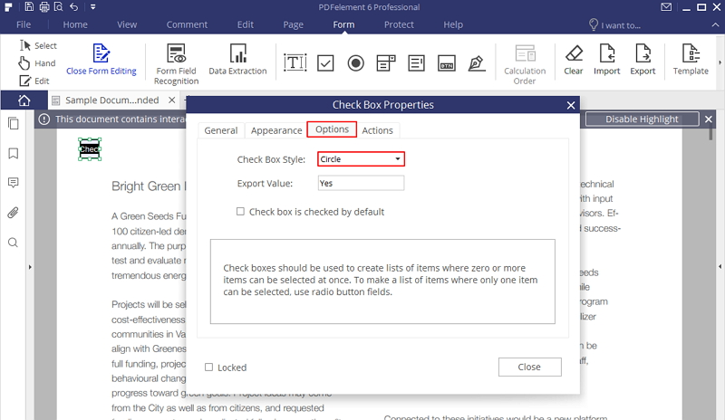 how to convert pdf file to fillable form