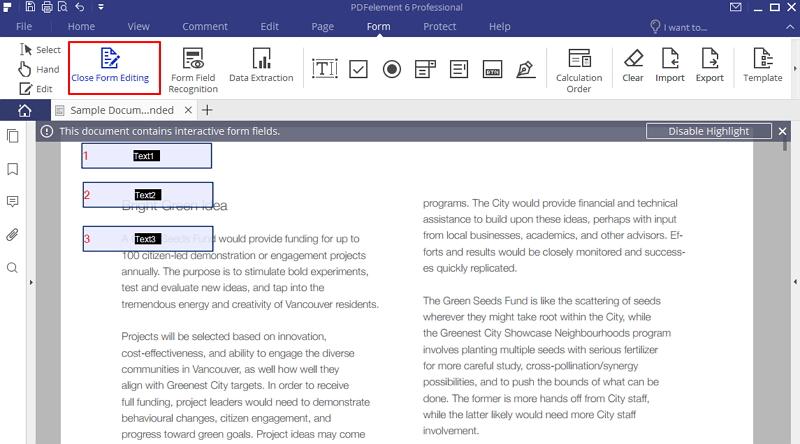 convertir un pdf en un formulario para rellenar