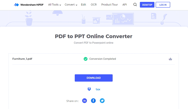 how to convert pdf to slides