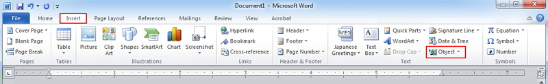 insert pdf into a word document as an image