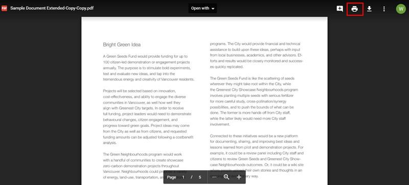 supprimer la protection d'impression d'un pdf