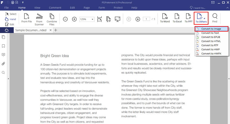 3 Solutions To Insert Pdf Image Into Word Wondershare Pdfelement