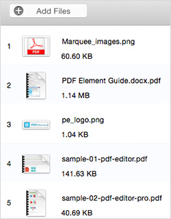 convert pdf on mac el capitan