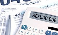 top tax refund calculator