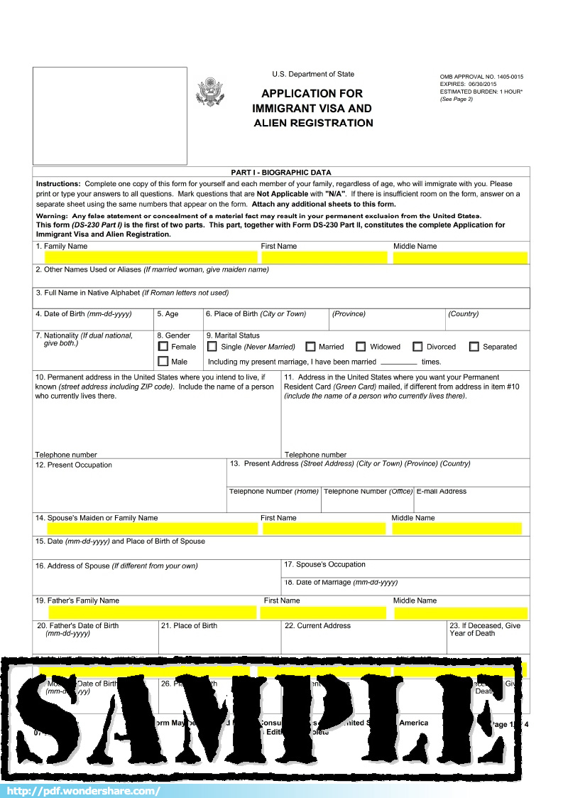 Ds 230 form related keywords suggestions ds 230 form long tail keywords