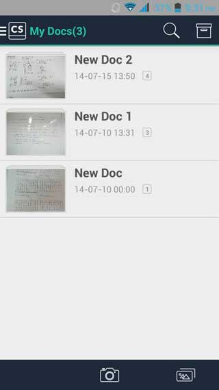 what is the android app to scan paperwork to pdf