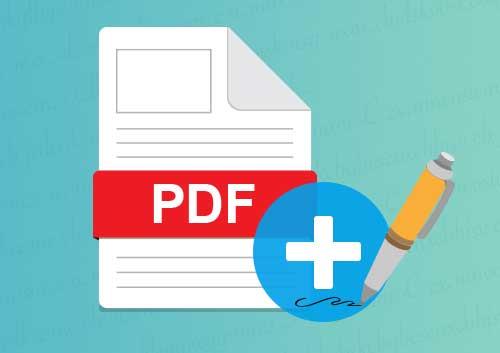 Add Signature to PDF