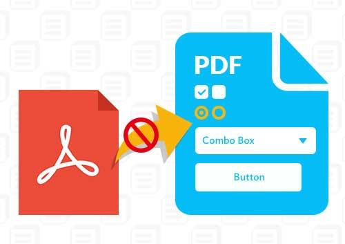Adobe Reader Cannot Save PDF form
