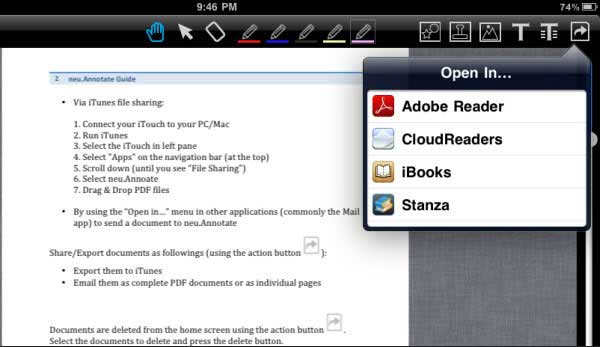 How to Read PDF files on Adobe Reader with iPad