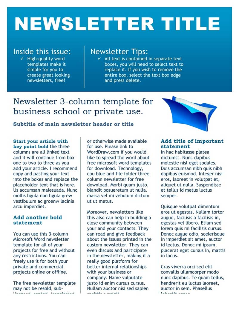 Business newsletter solarfm corporate newsletter vol1 by pirnttop graphicriver flashek Choice Image