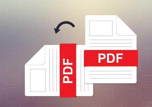 Change PDF Orientation