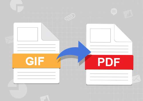 How to Convert GIF to PDF on Mac