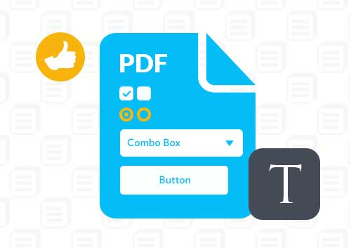 Convert PDF to Fillable Form in Adobe Ac