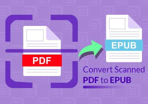Convert Scanned PDF to Epub