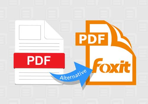 Foxit PDF Editor Alternative
