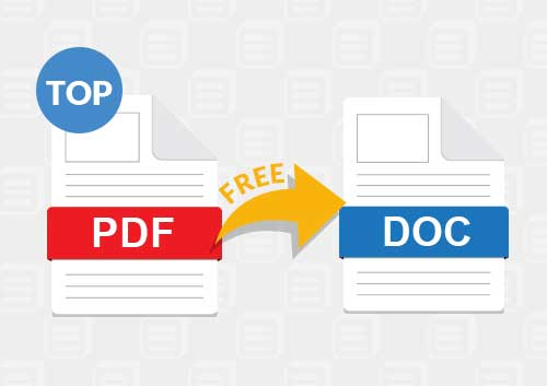 Free PDF to Doc Converters