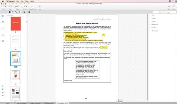Annotate PDF in Mac