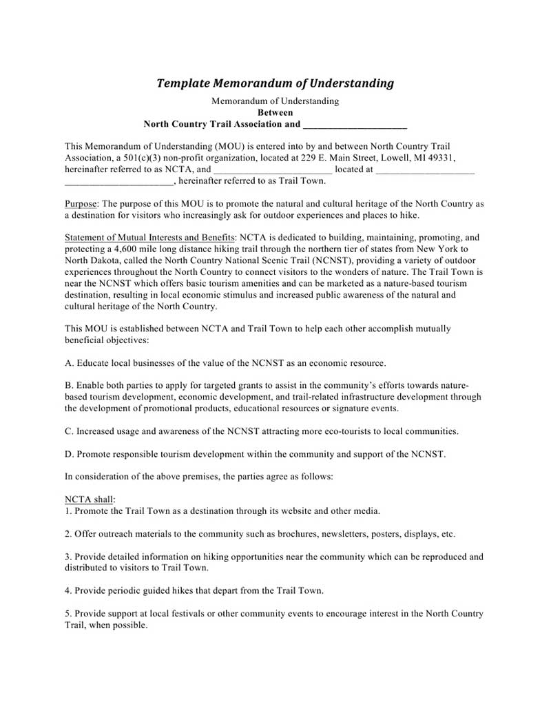 doc400518 sample partnership agreement partnership agreement memorandum of understanding template sample partnership agreement
