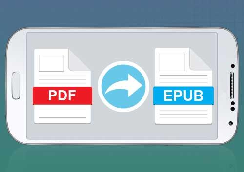 PDF to Epub Android