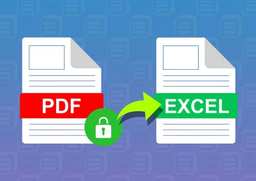 Protected PDF to Excel
