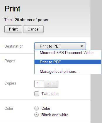 Save Pdf Files From Google Chrome