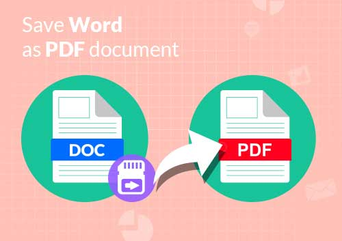 Save Word As PDF