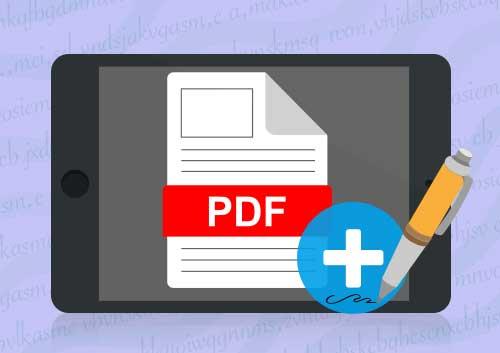 Sign PDF on iPad