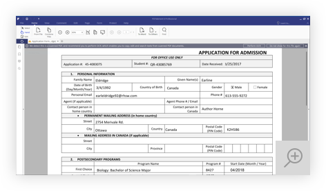 Extract Data From Scanned Forms Wondershare Pdfelement
