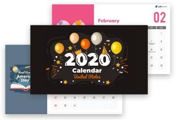 2020 Pdf Calendars Giveaway Iskysoft