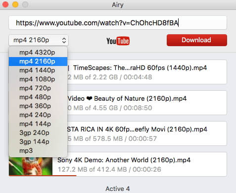 youtube download video chrome mac
