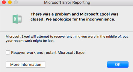 Microsoft Excel for macOS 10 14 Crashes? How to Fix!