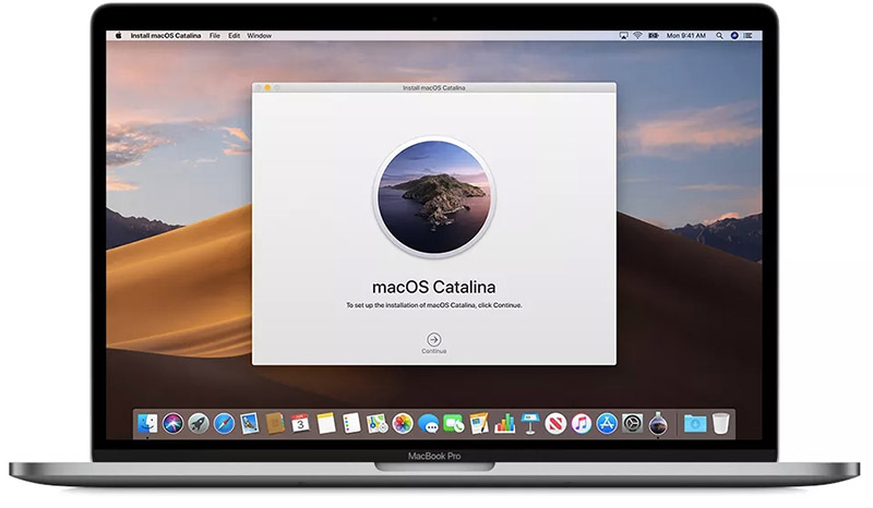 macOS 10.15 upgrade fails with an error