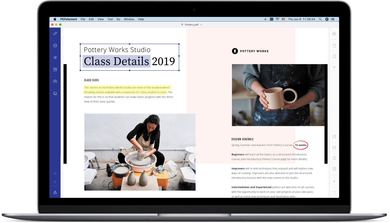 éditeur pdf mac