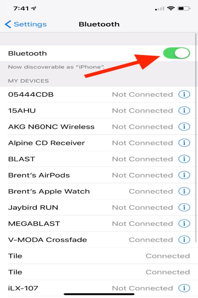 fix bluetooth issue