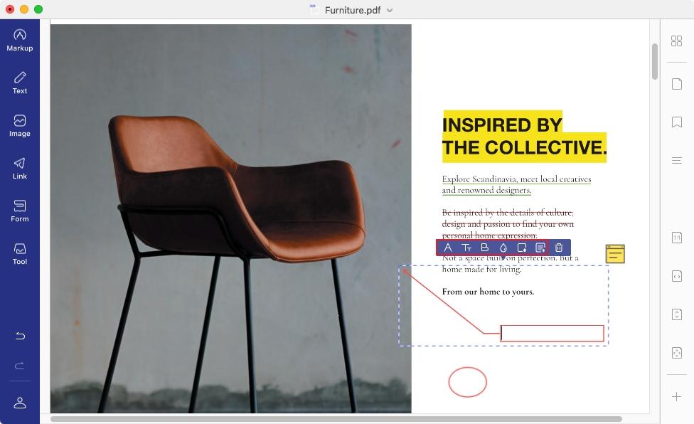 add pdf notes on mac