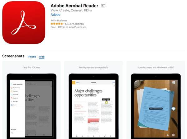 how to annotate pdf on ipad pro