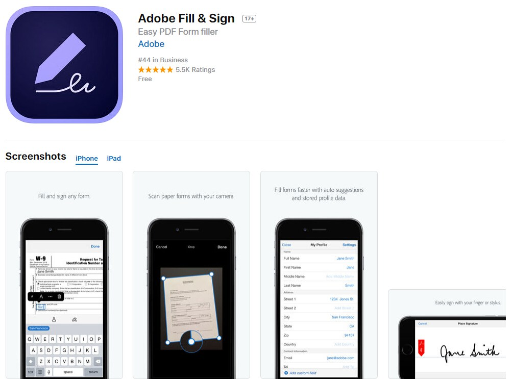 Top 6 Free Apps to Fill PDF Forms on iPhone | Wondershare PDFelement
