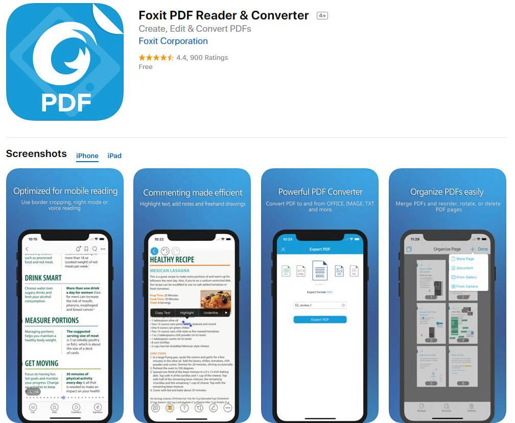 viewing interactive pdf on ipad