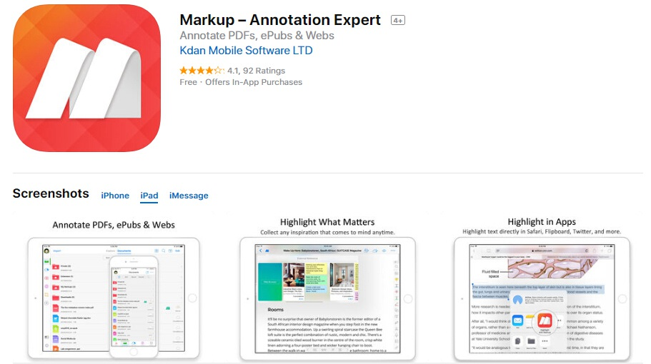 Best PDF Annotation Apps that Support iPad Pro Pencil