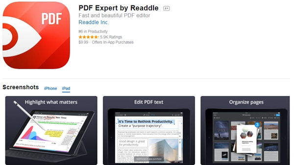 take notes on pdf ipad