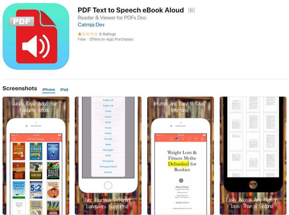 How to Read PDF out Loud on iPhone | Wondershare PDFelement