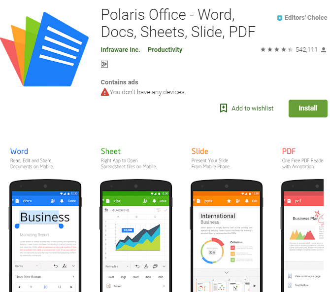 Excel To PDF Converter App For Android