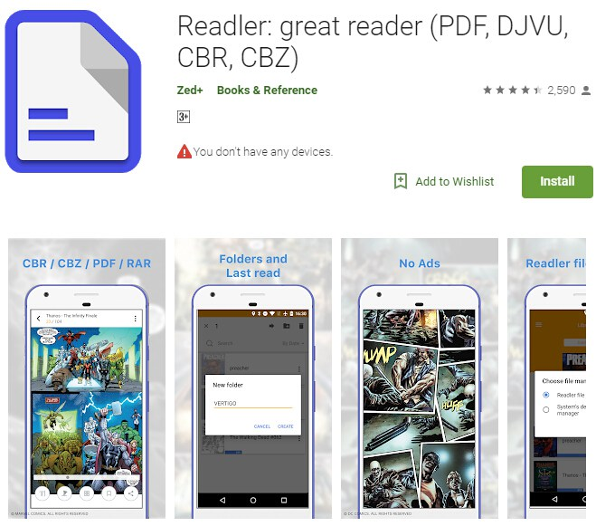 Best CBR to PDF Converters on Android | Wondershare PDFelement