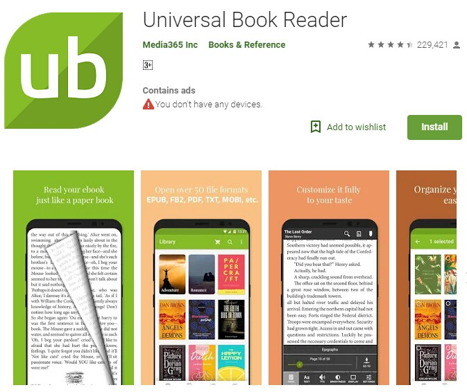 Epub to pdf converter for android wondershare pdfelement epub to pdf android fandeluxe Images