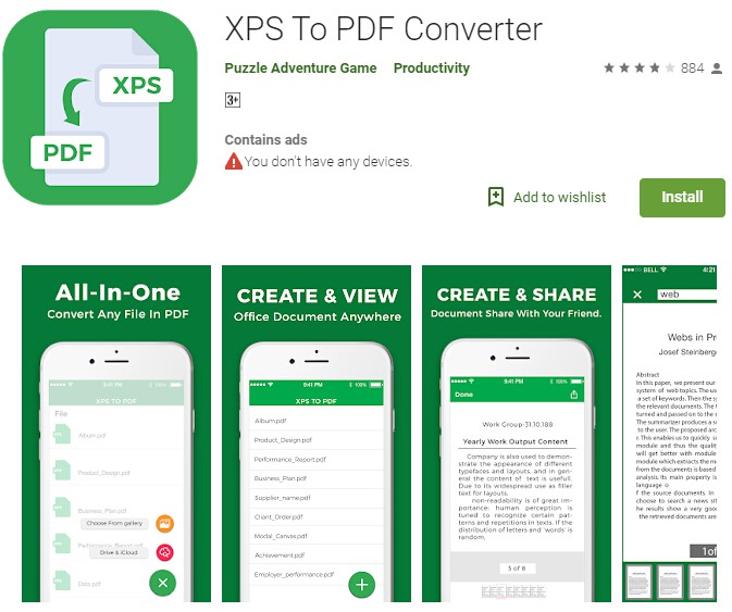 Excel to PDF Converter App for Android | Wondershare PDFelement