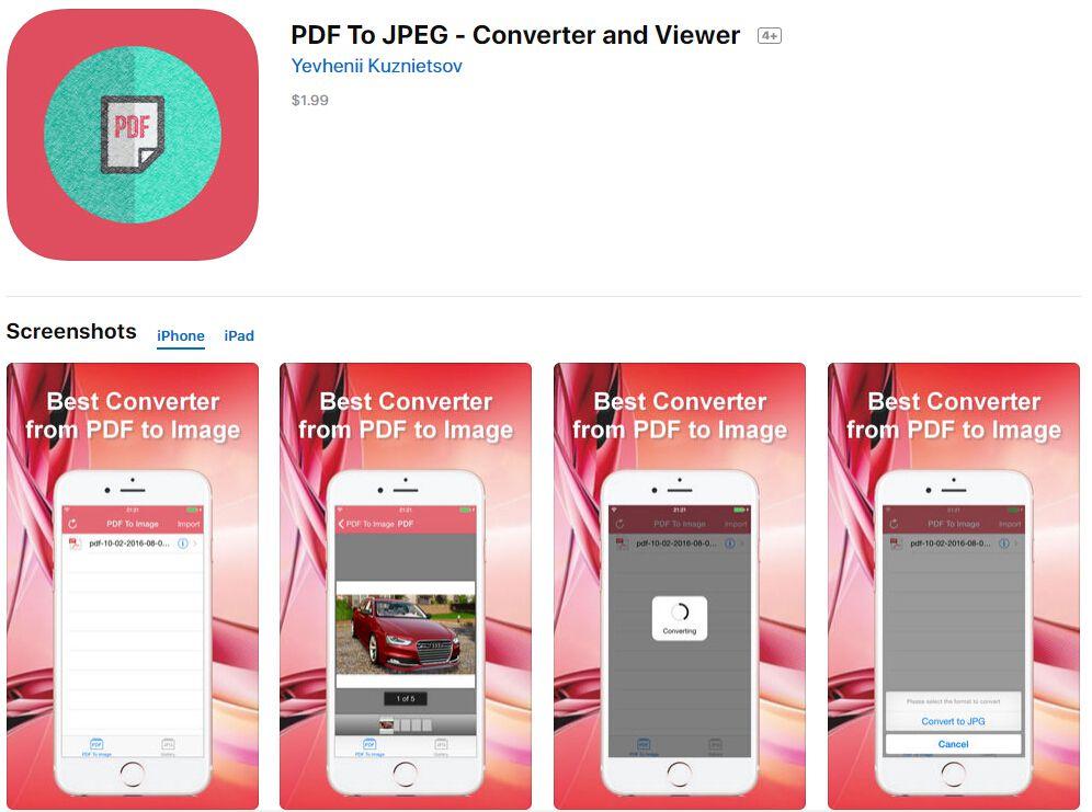 jpeg photos app