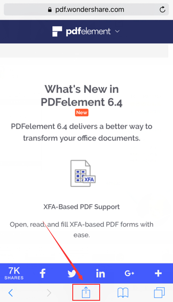 how to save webpage as pdf
