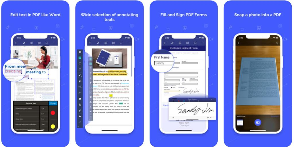 pdf apps for iphone